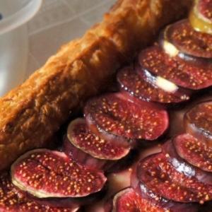 Инжир - Пирог с инжиром и камамбером