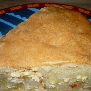 Пользователи - Пирог с капустой и адыгейским сыром