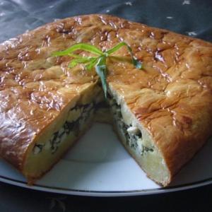 Рецепты грузинской кухни - Пирог с тархуном