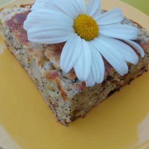 Финик - Пирог с яблоками, финиками и маком