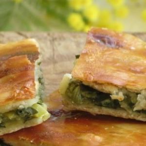 Пармезан - Пирог с зеленью