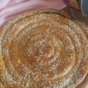 Щавель - Пирог со щавелем и рикоттой