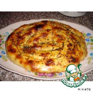 """Рецепты азербайджанской кухни - Пирог """"Улитка"""""""