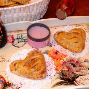 Тесто - Пирожки слоеные Сердечки