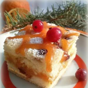 Гвоздика - Пирожное Клюква в квадрате