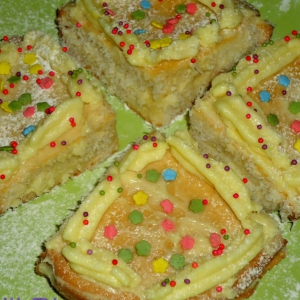 Кокос - Пирожные Новогодняя нежность