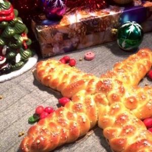 Мед - Плетеная рождественская звезда