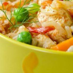 Масала - Плов из курицы с овощами