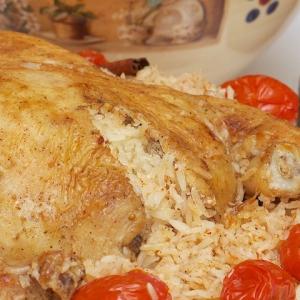 Рецепты еврейской кухни - По мотивам Тбит (курица с рисом)