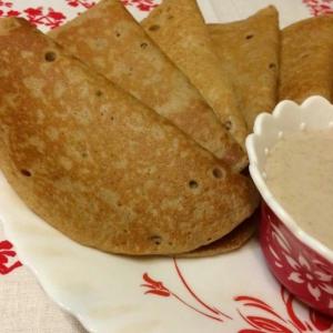 Корица - Полбовые блины с ореховым соусом