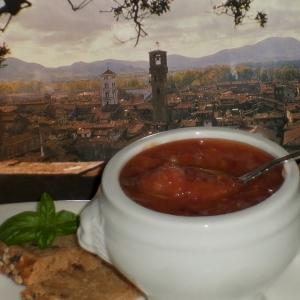 Фасоль - Полбовый суп из города Лукка