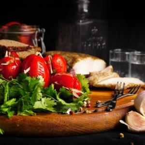 Рецепты армянской кухни - Помидоры по-армянски от Микаэля Арояна