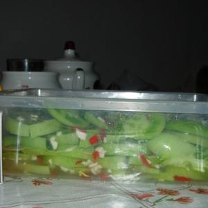 Острые блюда - Помидоры зеленые закусочные
