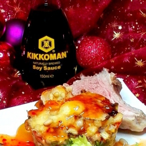 Брокколи - Порционная овощная запеканка с бараньими рёбрышками