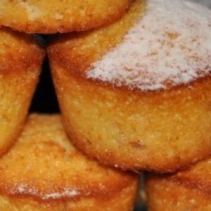 Рецепты португальской кухни - Португальские кексы с инжиром и апельсином