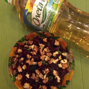 Свекла - Постный свекольный салат с черносливом