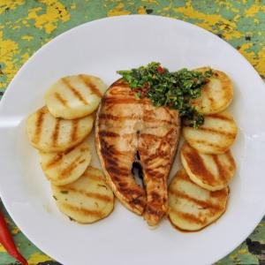 Лосось - Потрясный лосось с ароматной сальсой