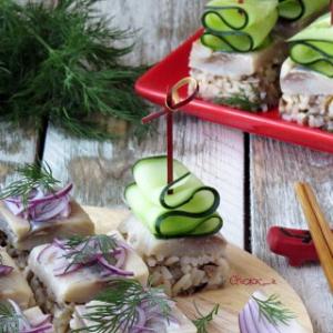 Сельдь - Праздничная закуска А-ля суши