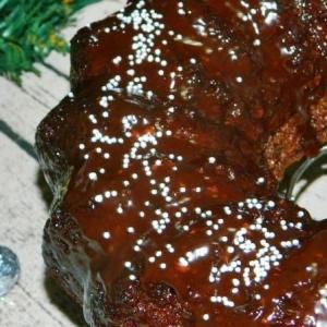 Рецепты десертов - Праздничный кекс с вишней и орехами