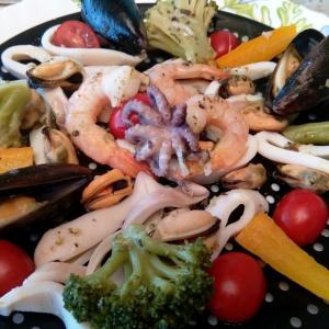 Праздничный салат Морская соната
