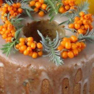Мандарин - Праздничный тыквенно-облепиховый кекс