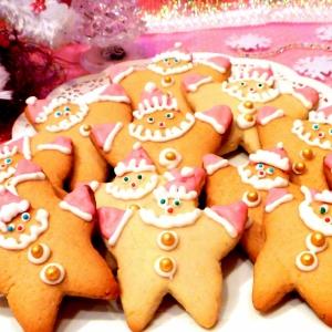 Миндаль - Пряники медовые Рождественские гномы