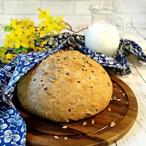 Масло сливочное - Пшенично-ржаной хлеб Зерновой
