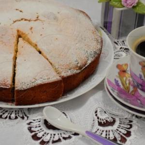 Кефир - Пышный пирог Маковый