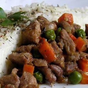 Индейка - Рагу из индейки с рисом