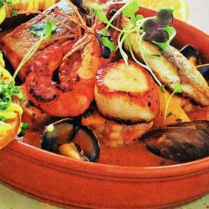 Морепродукты - Рагу из морепродуктов
