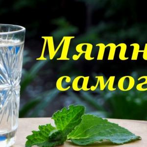 Шалфей - Рецепт Мятного самогона