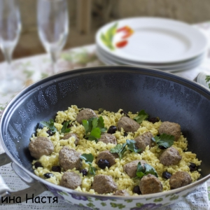 Тмин - Рис с фрикадельками