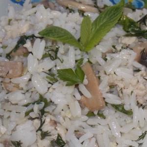 Душица обыкновенная (орегано) - Рис с грибами и фаршем Дачный