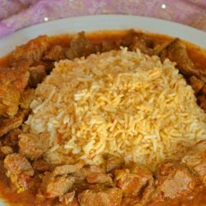 Рецепты восточной кухни - Рис с карри из говядины