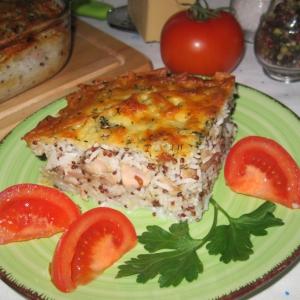 Майоран - Рисовая запеканка с лососевыми молоками