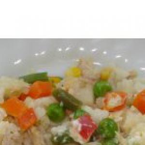 Капуста белокачанная - Рисовая запеканка