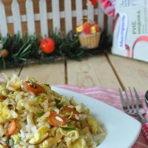 Рецепты гарниров - Рисовое соте в азиатском стиле