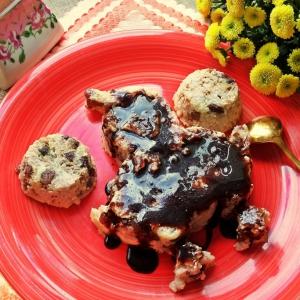 Изюм - Рисовый пудинг с орехами и изюмом