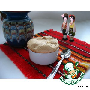 Рецепты болгарской кухни - Рисовый пудинг с яблоком и меренгой