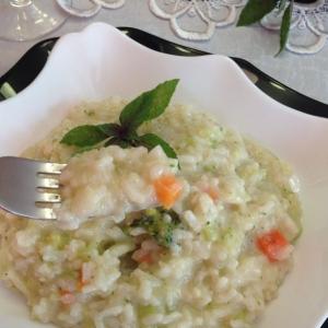 Вегетарианская кухня - Ризотто Примавера
