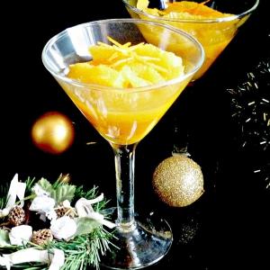 Рецепты средиземноморской кухни - Рождественский десерт из апельсинов для взрослых