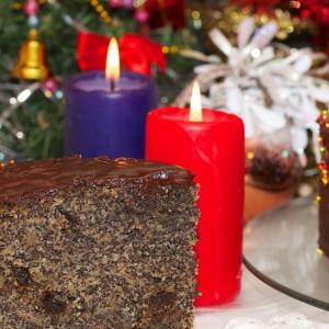 Рецепты польской кухни - Рождественский маковый торт-Tort makowy