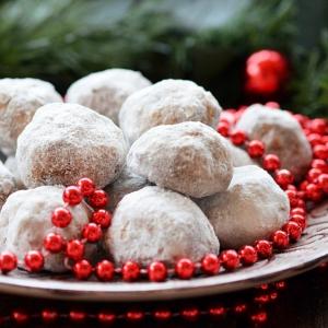 Ванилин - Рождественское печенье Снежки