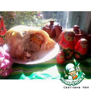 Субпродукты - Рулет из свиной брюшины