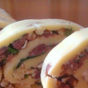 Мясо - Рулет сырный с начинкой