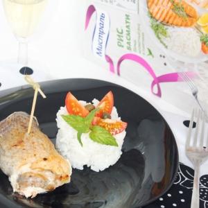 Перец белый - Рулеты из семги и дорады
