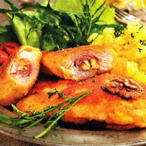 Рыба, фаршированная грецкими орехами
