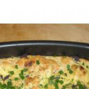 Хек - Рыба с овощами в духовке. Очень вкусно