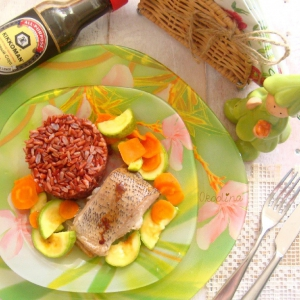 Экспресс-кухня - Рыба с овощами в микроволновке