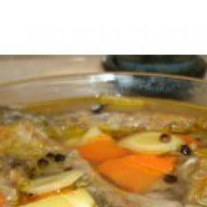 Сазан - Рыба в белом маринаде
